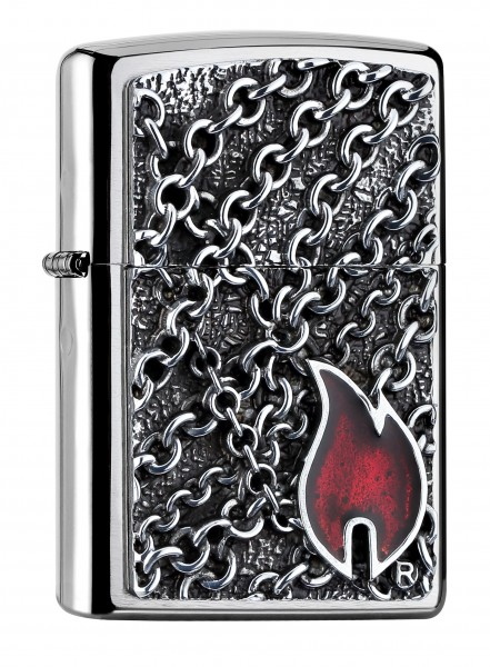 Zippo PL FLAME WITH CHAINS