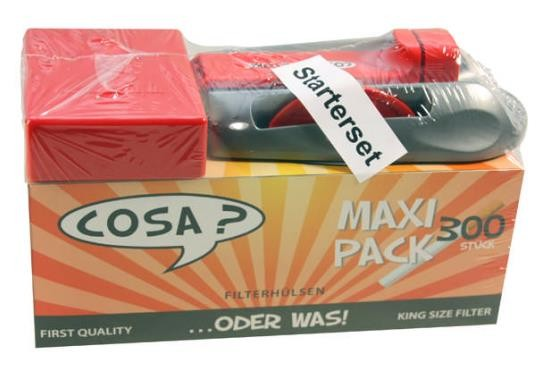 COSA STARTER SET HÜLSE+ STOPFER+BOX