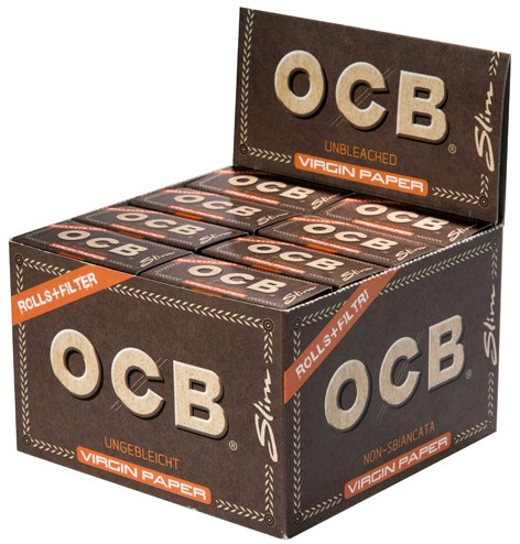 OCB UNBLEACHED ROLLS TIPS