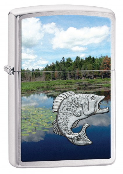 ZIPPO NATURE FISH IN LAKE