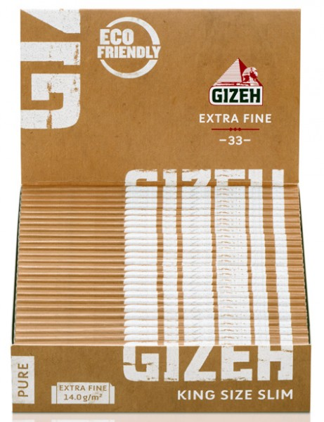 GIZEH PURE KING SIZE SLIM PAPIER
