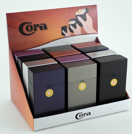 CORA CLIC BOX 100 MM METALLIC 20 ZIGT